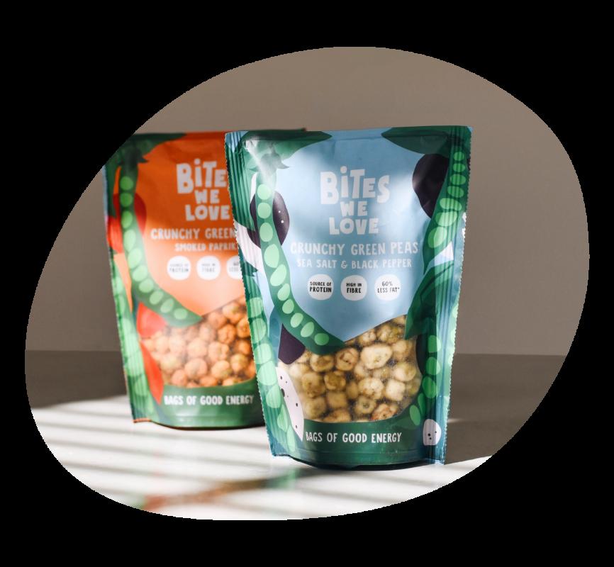 Crunchy Peas rond