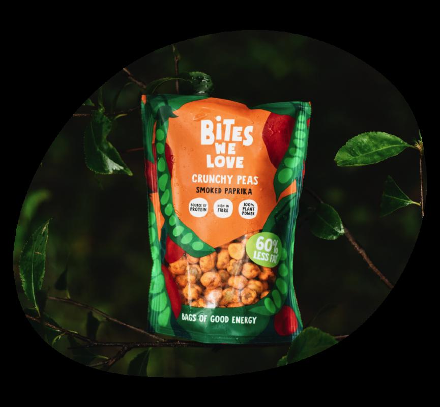 BWL crunchy peas smoked paprika